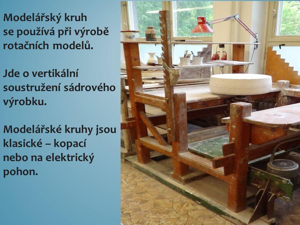Modelářský kruh se používá při výrobě rotačních modelů.