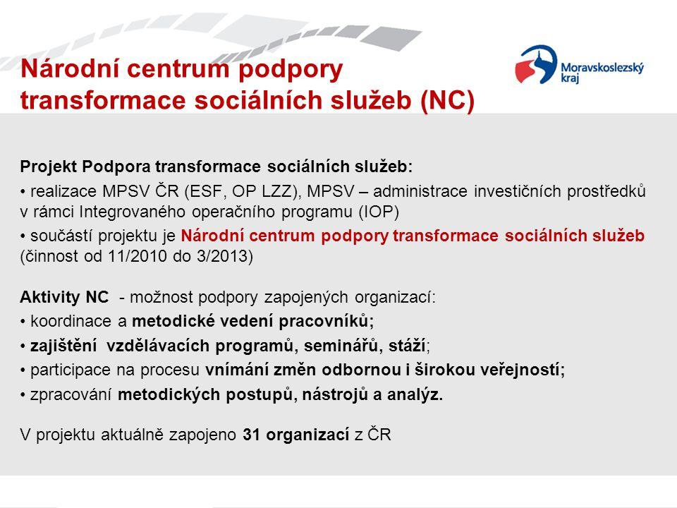 Národní centrum podpory transformace sociálních služeb (NC)