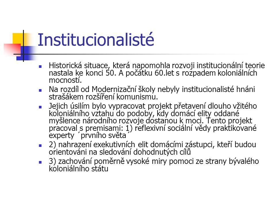 Institucionalisté