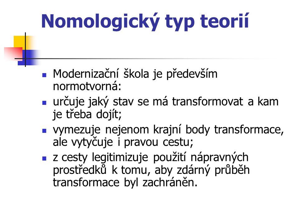 Nomologický typ teorií