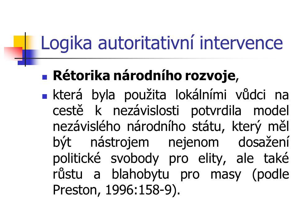 Logika autoritativní intervence