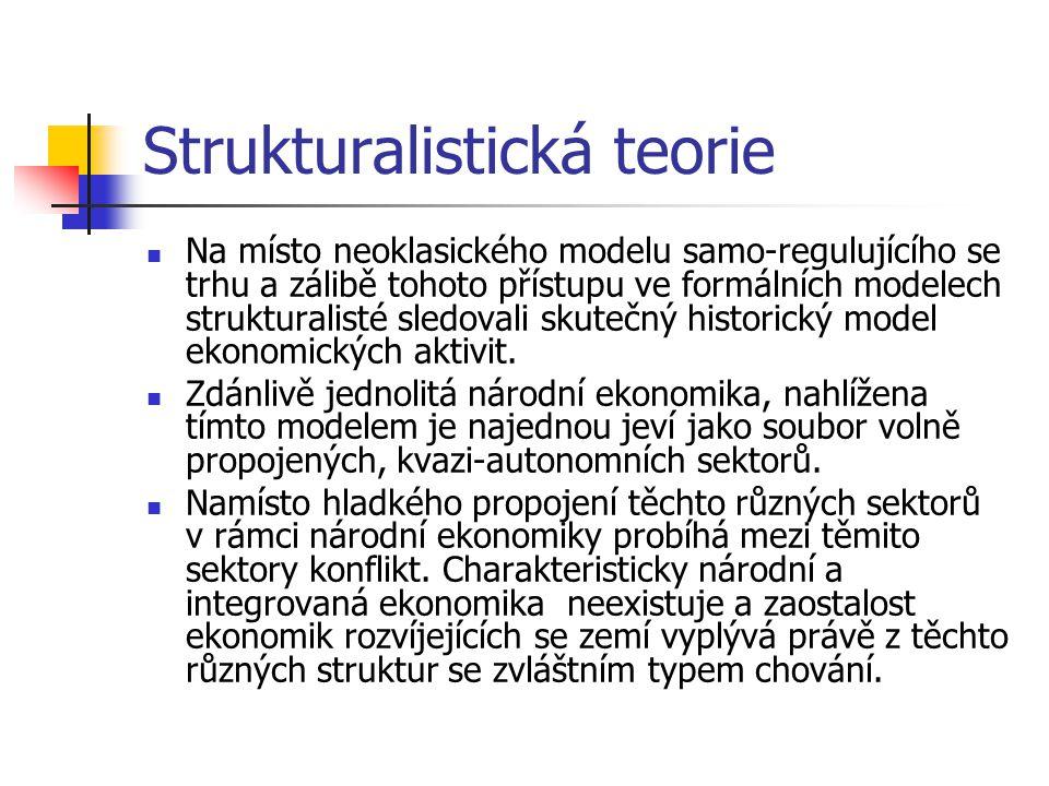 Strukturalistická teorie