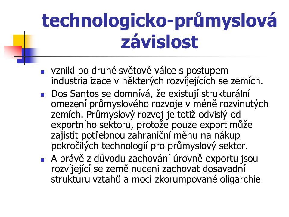 technologicko-průmyslová závislost