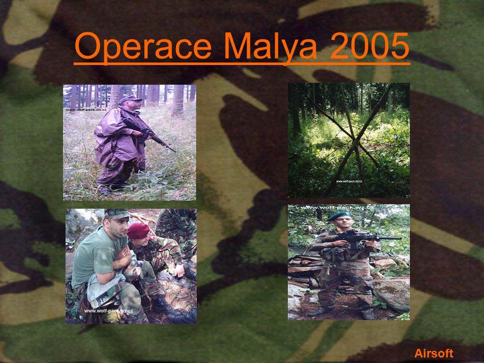 Operace Malya 2005 Airsoft