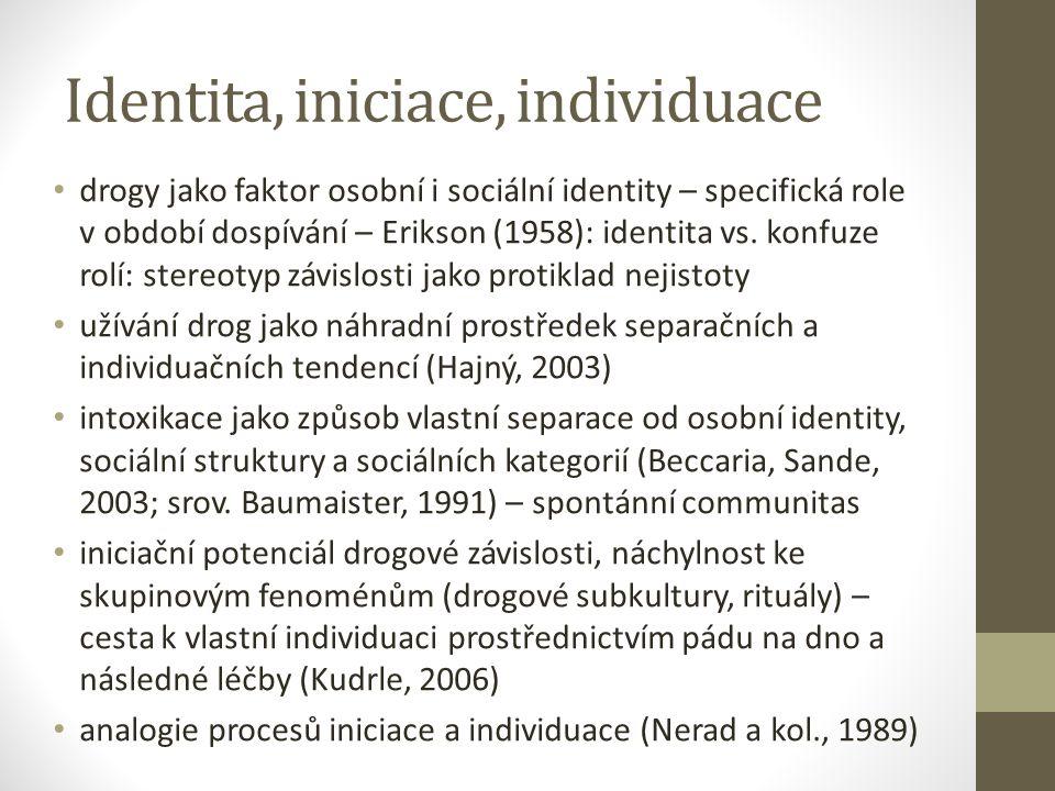 Identita, iniciace, individuace