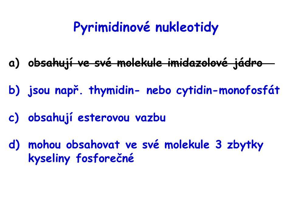 Pyrimidinové nukleotidy