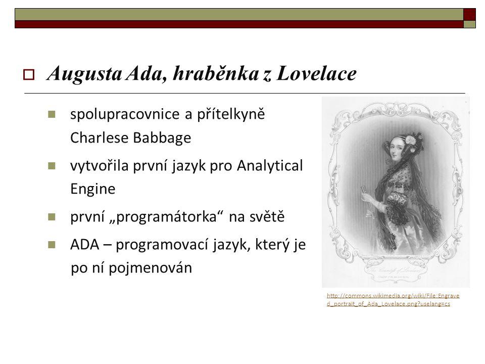 Augusta Ada, hraběnka z Lovelace