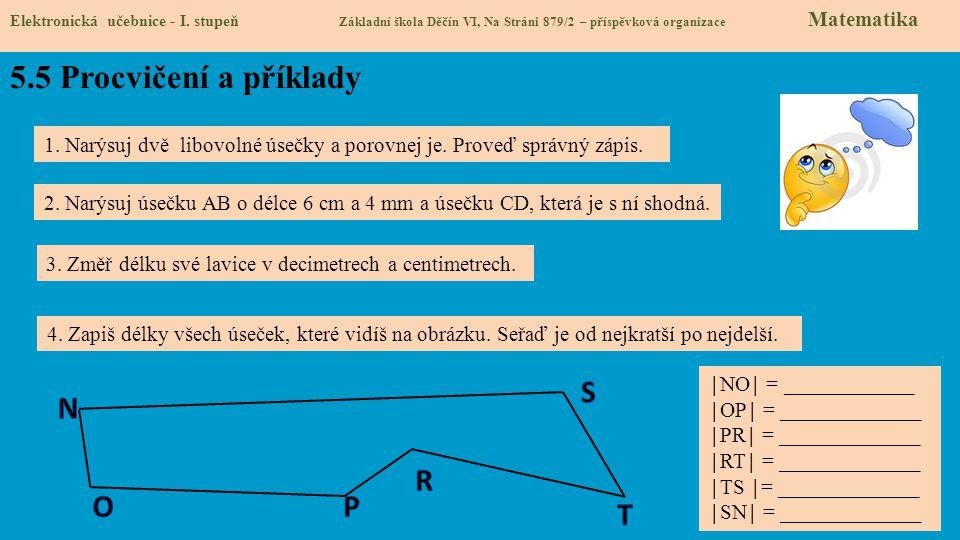 5.5 Procvičení a příklady S N R O P T