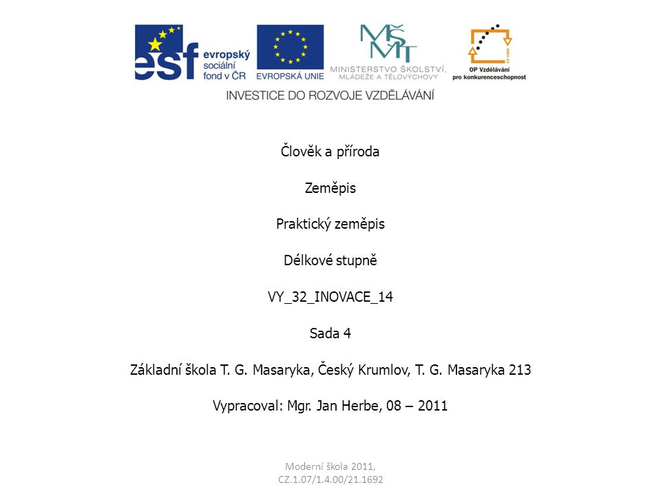 Základní škola T. G. Masaryka, Český Krumlov, T. G. Masaryka 213