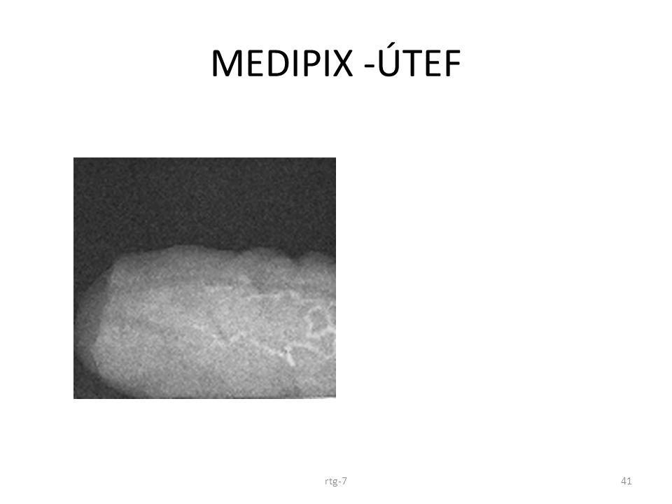 MEDIPIX -ÚTEF rtg-7