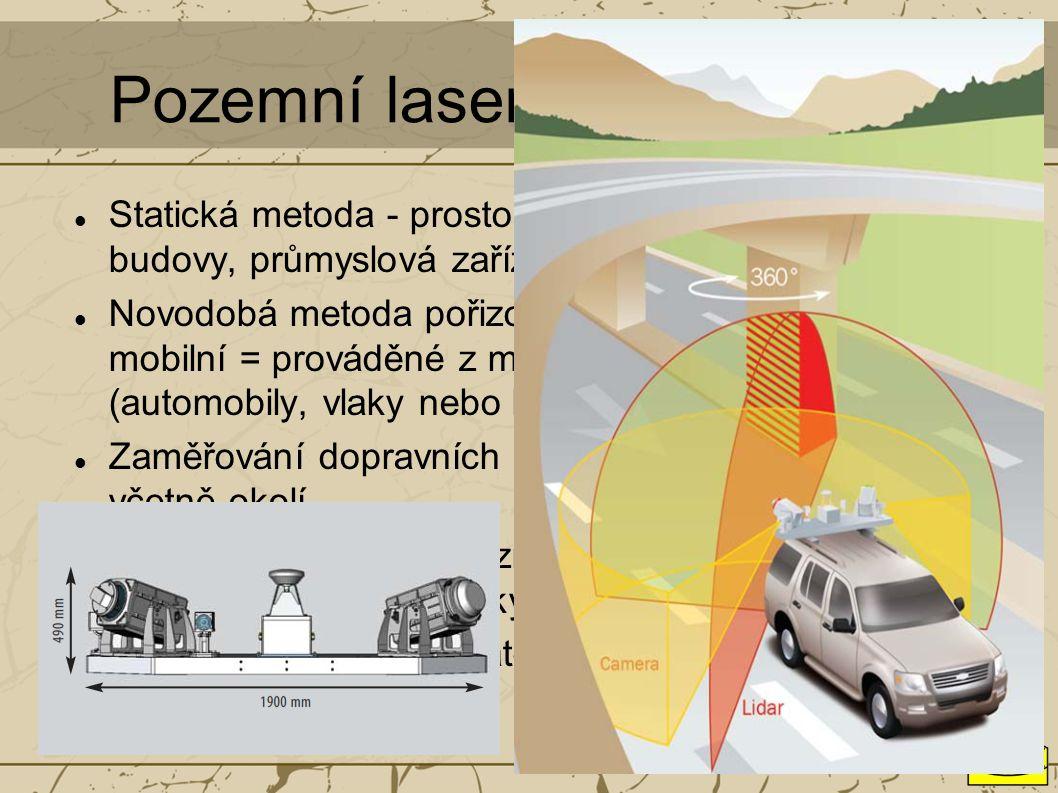 Pozemní laserové skenování