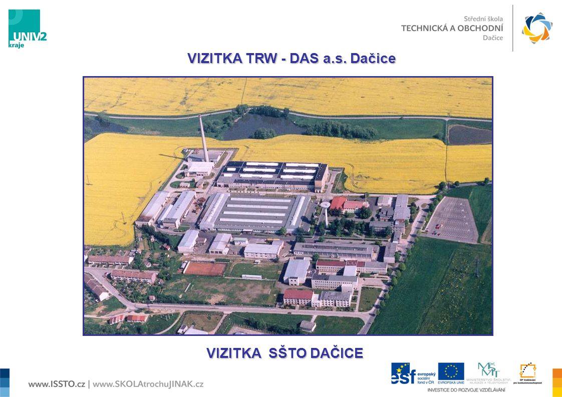 VIZITKA TRW - DAS a.s. Dačice