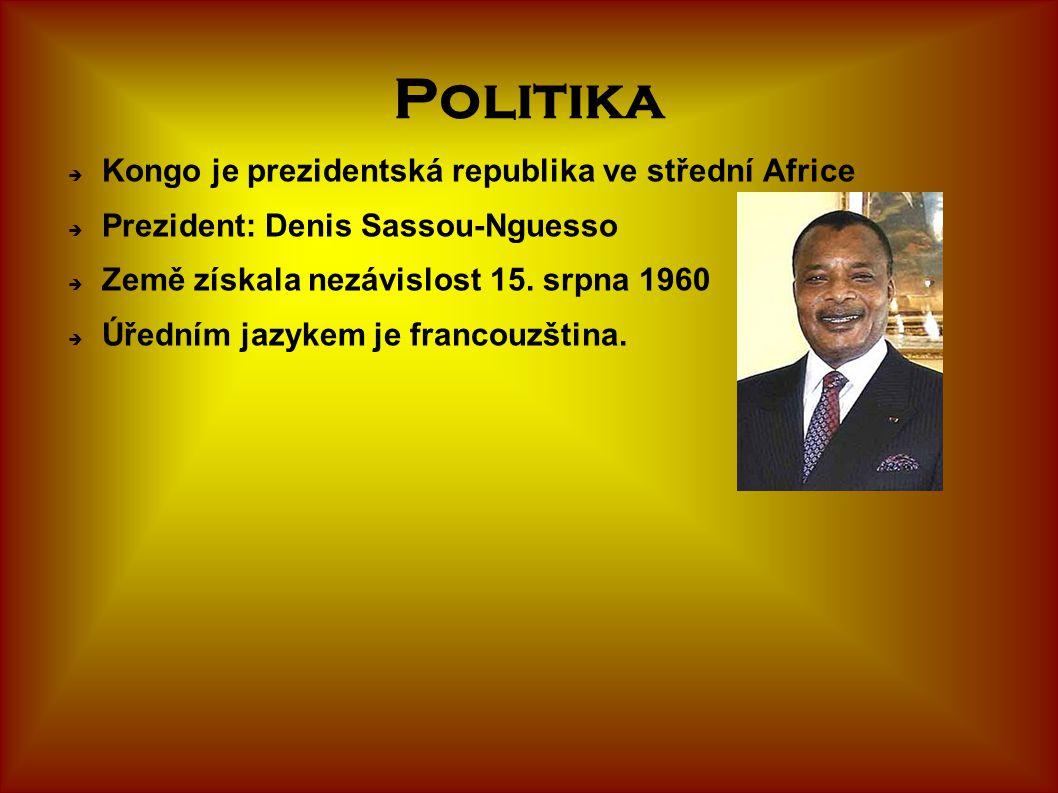 Politika Kongo je prezidentská republika ve střední Africe
