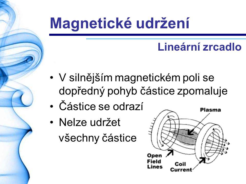 Magnetické udržení Lineární zrcadlo