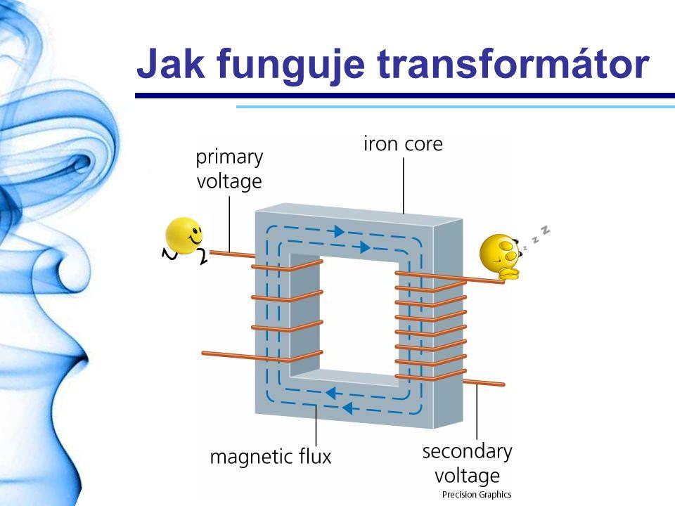 Jak funguje transformátor