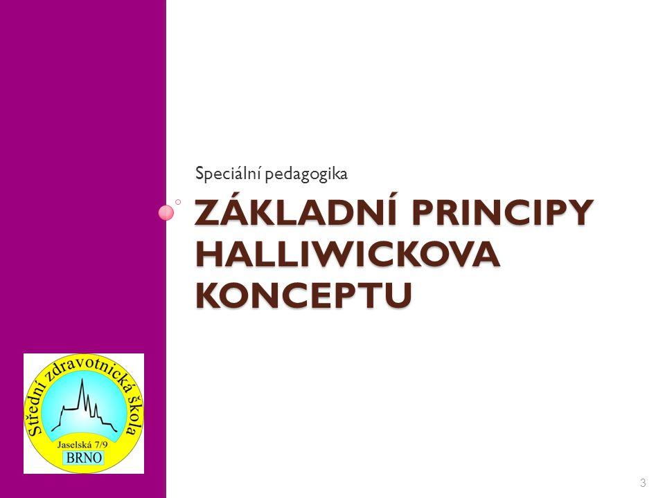 ZÁKLADNÍ PRINCIPY HALLIWICKOVA KONCEPTU