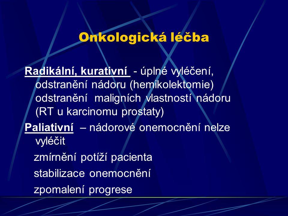 Onkologická léčba