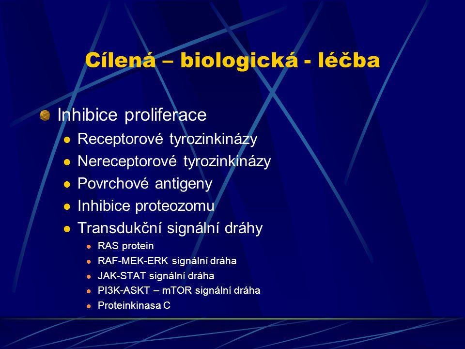 Cílená – biologická - léčba