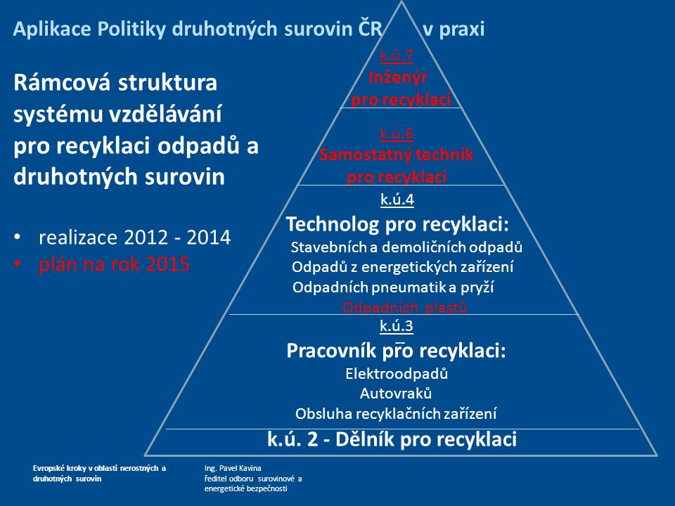 Rámcová struktura systému vzdělávání