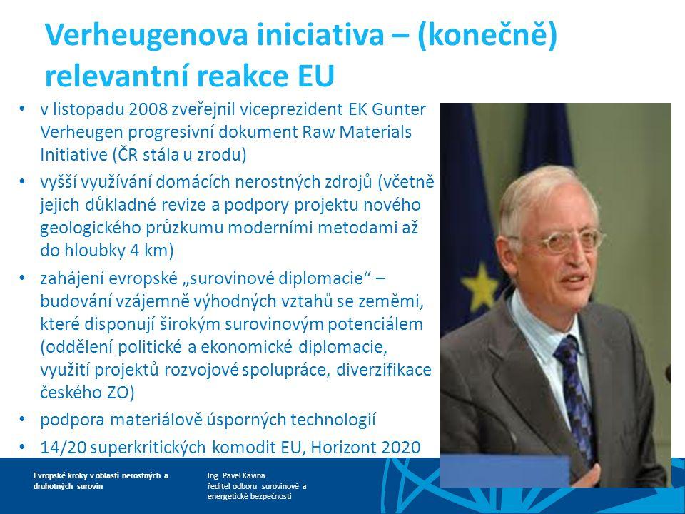 Verheugenova iniciativa – (konečně) relevantní reakce EU
