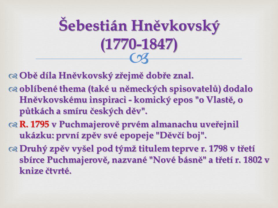 Šebestián Hněvkovský (1770-1847)