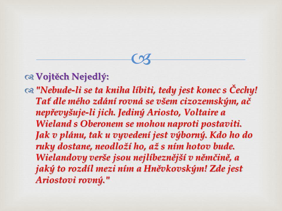 Vojtěch Nejedlý: