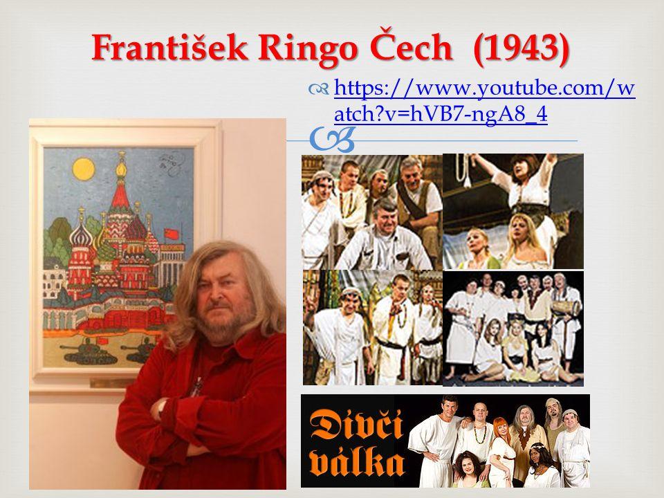 František Ringo Čech (1943)