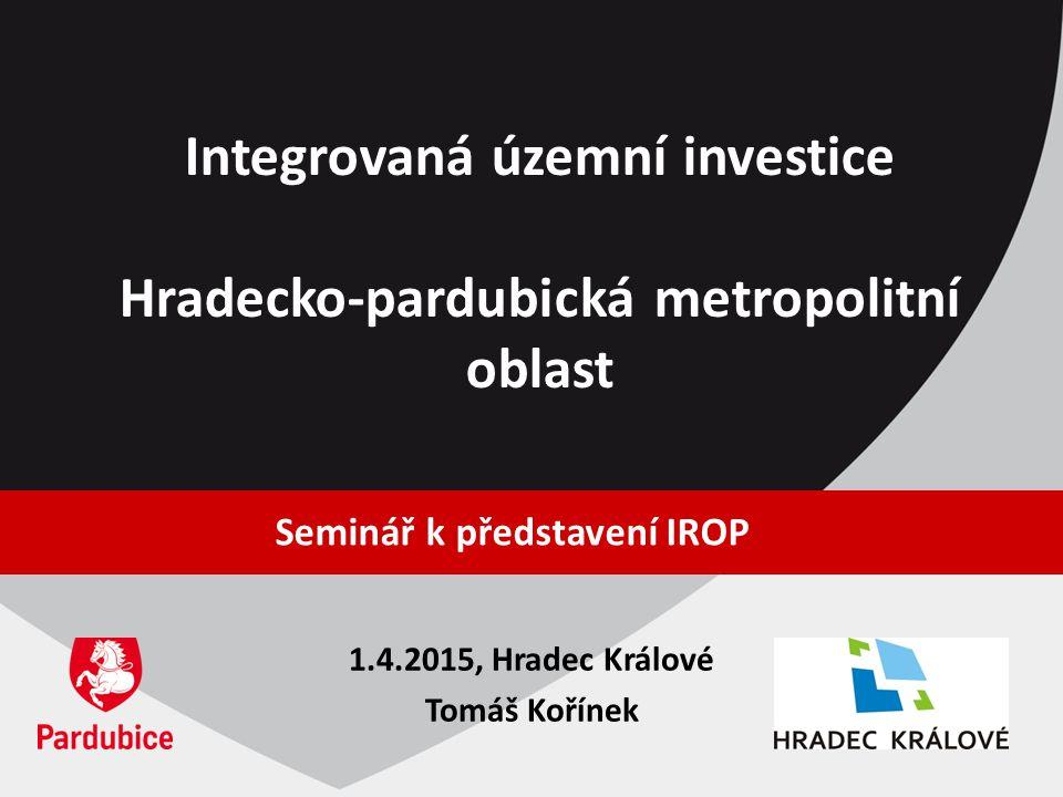 Integrovaná územní investice Hradecko-pardubická metropolitní oblast