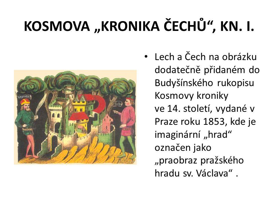 "KOSMOVA ""KRONIKA ČECHŮ , KN. I."