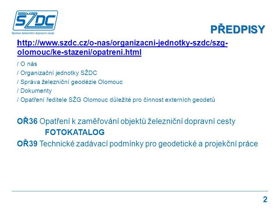 PŘEDPISY http://www.szdc.cz