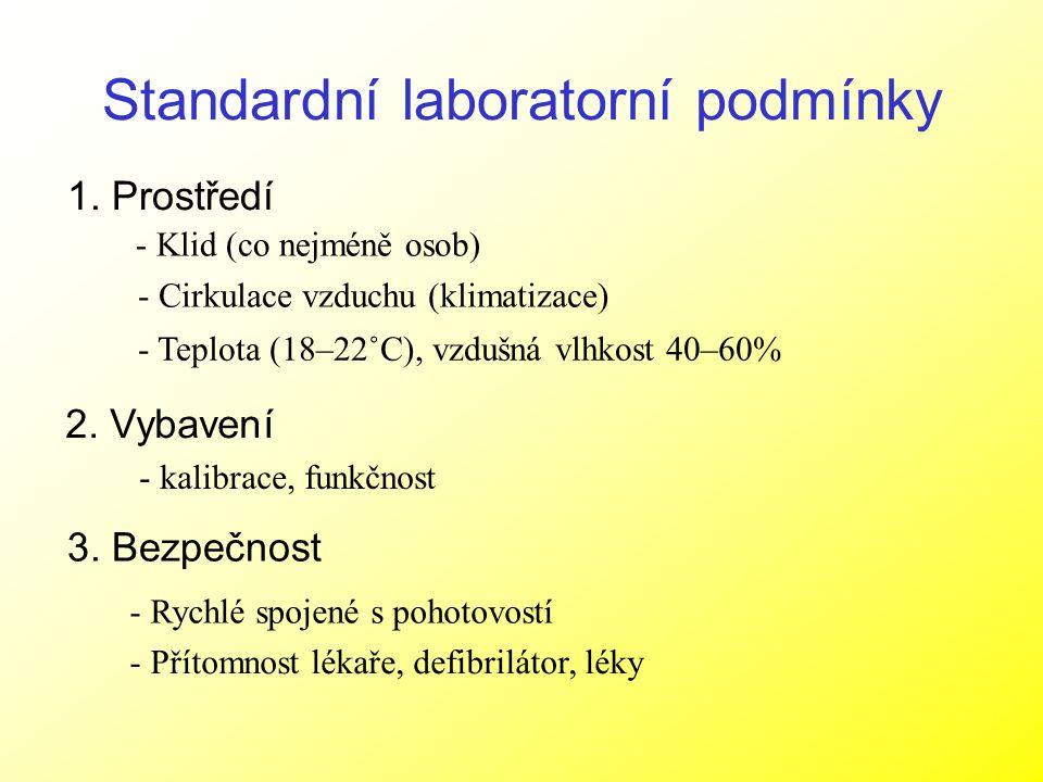 Standardní laboratorní podmínky