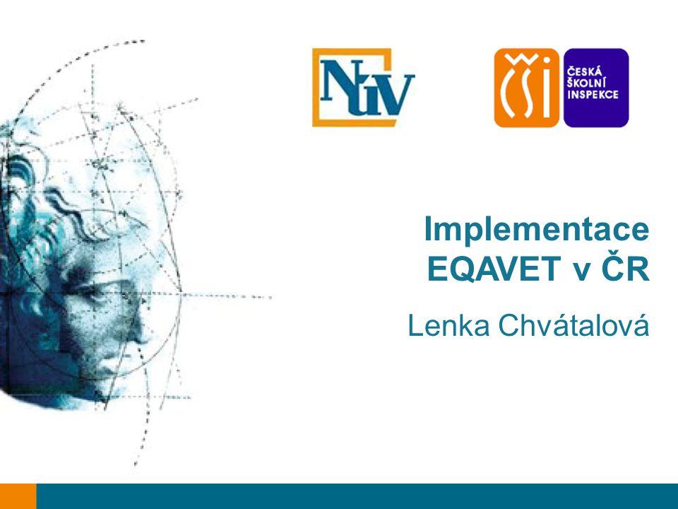 Implementace EQAVET v ČR