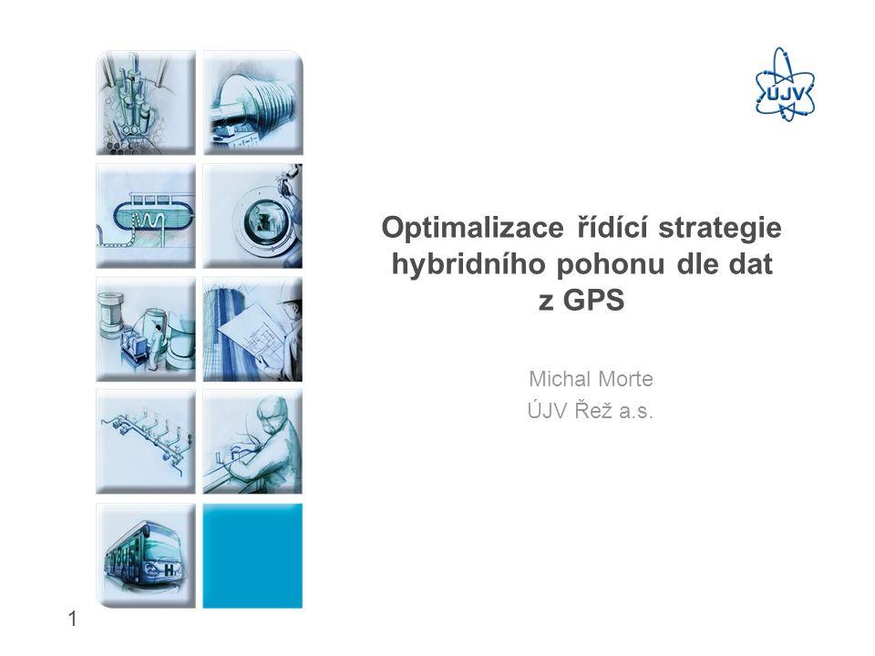Optimalizace řídící strategie hybridního pohonu dle dat z GPS