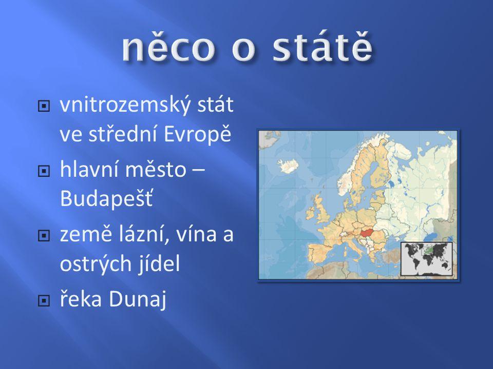 něco o státě vnitrozemský stát ve střední Evropě