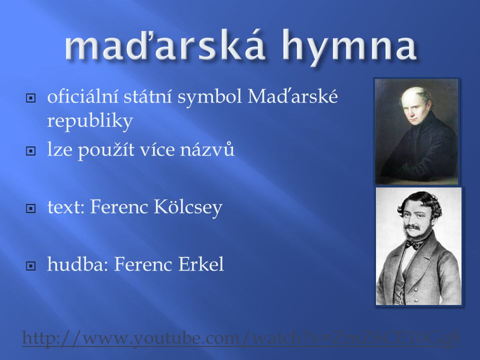 maďarská hymna oficiální státní symbol Maďarské republiky
