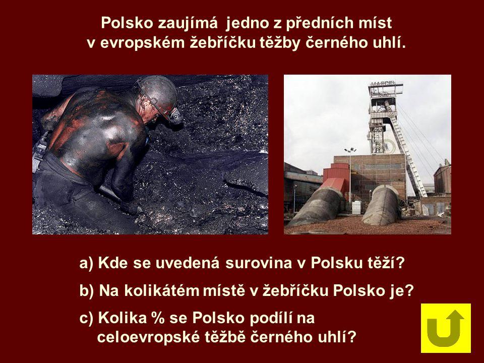 Polsko zaujímá jedno z předních míst
