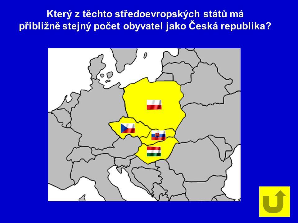 Který z těchto středoevropských států má