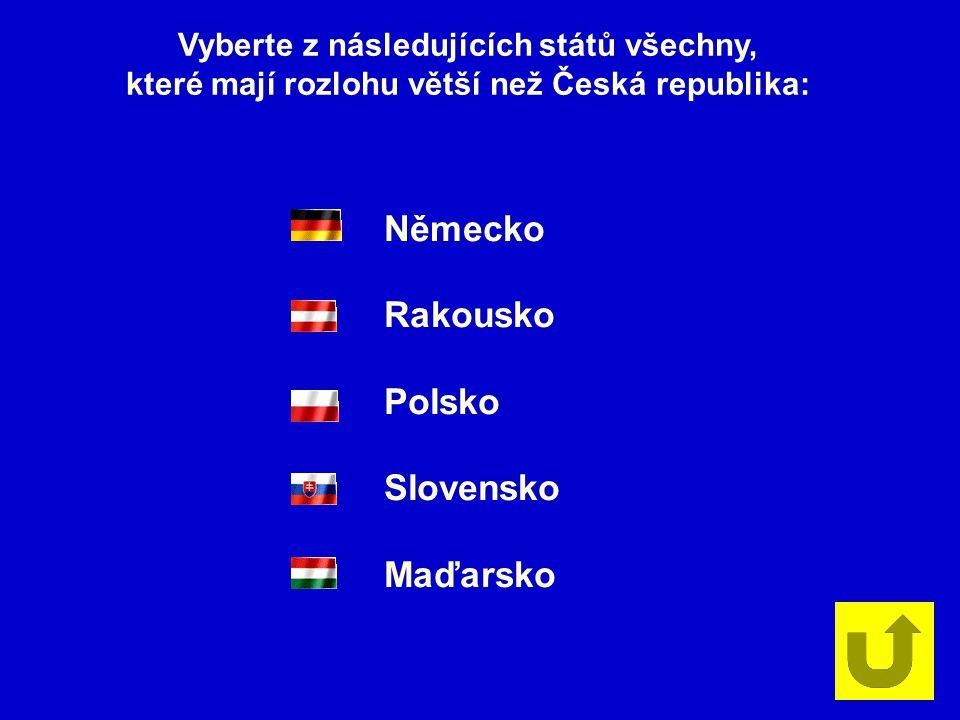 Německo Rakousko Polsko Slovensko Maďarsko
