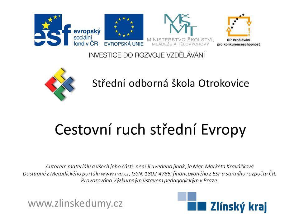 Cestovní ruch střední Evropy
