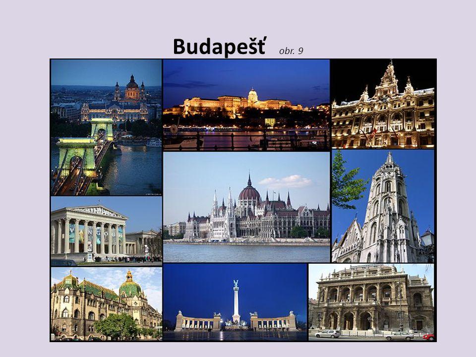 Budapešť obr. 9