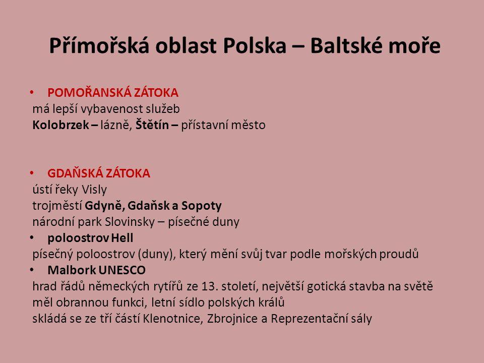 Přímořská oblast Polska – Baltské moře