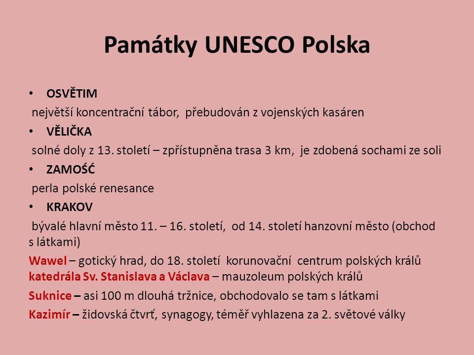 Památky UNESCO Polska OSVĚTIM