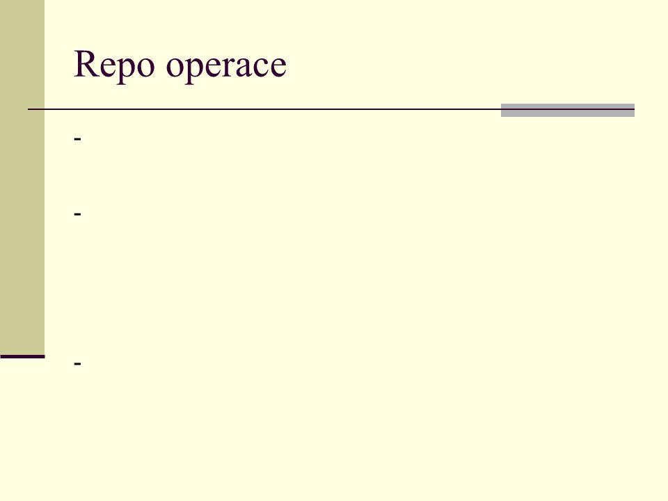 Repo operace