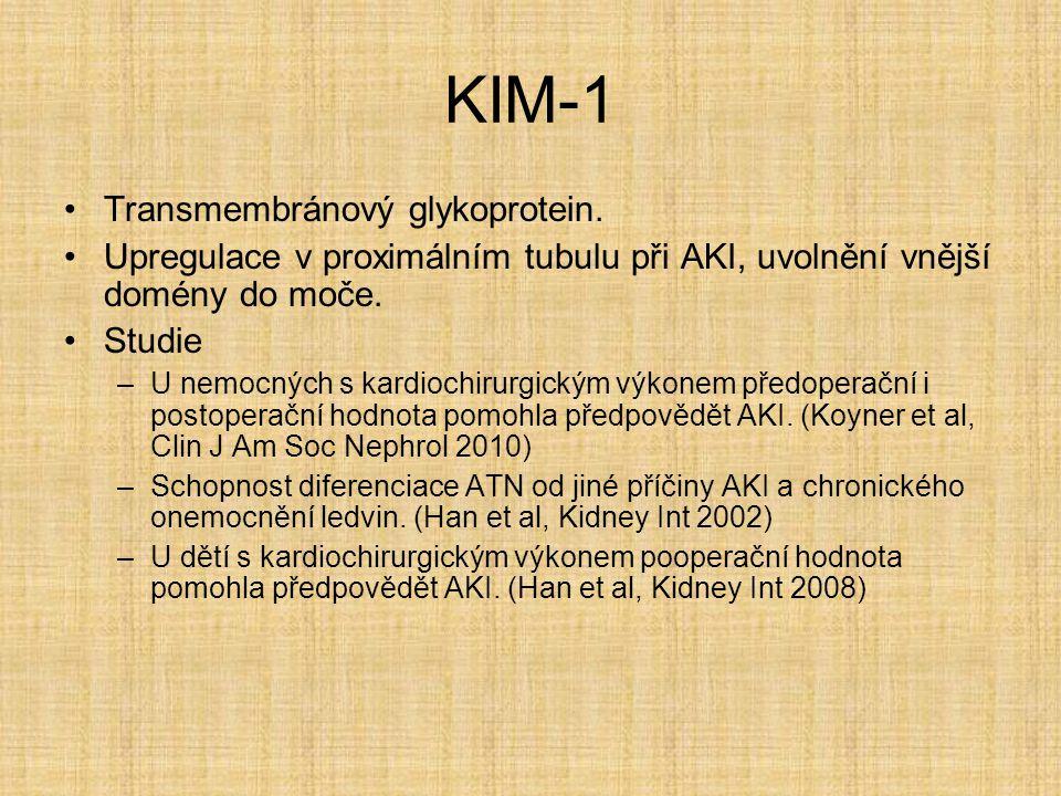 KIM-1 Transmembránový glykoprotein.