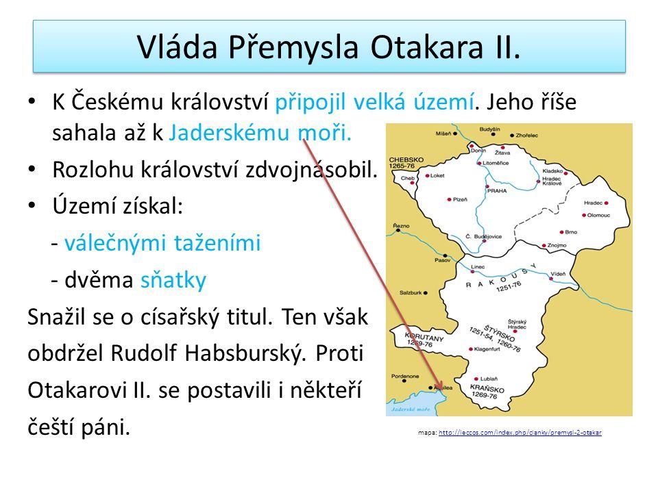 Vláda Přemysla Otakara II.