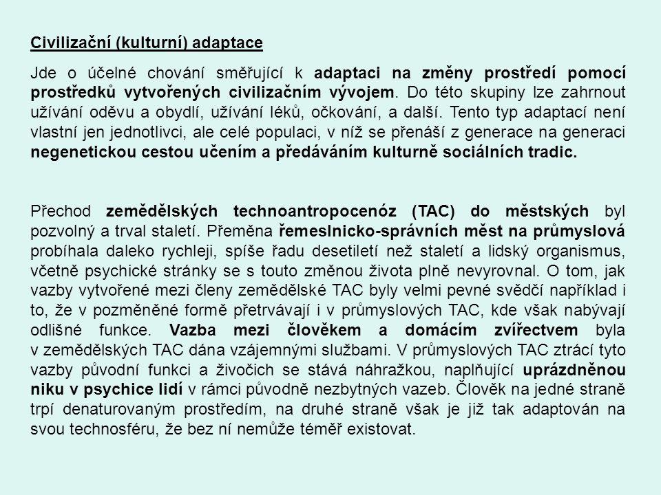 Civilizační (kulturní) adaptace