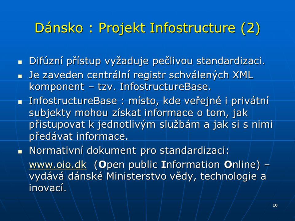 Dánsko : Projekt Infostructure (2)