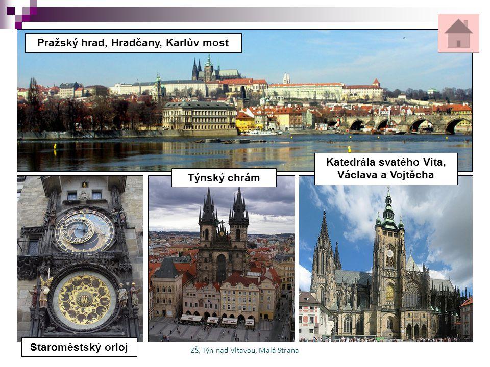 Pražský hrad, Hradčany, Karlův most