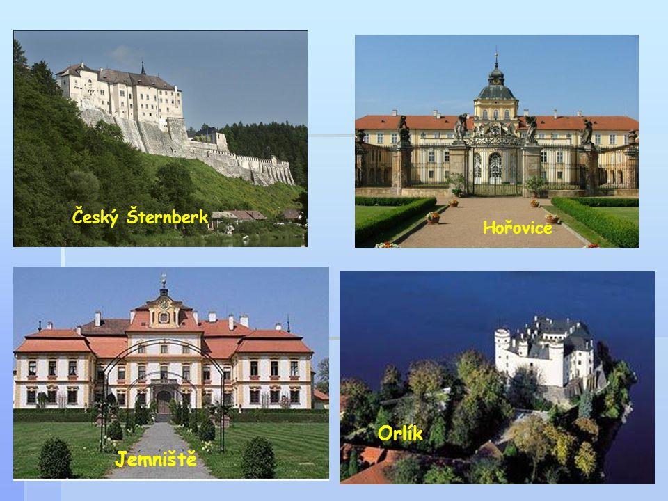 Český Šternberk Hořovice Orlík Jemniště