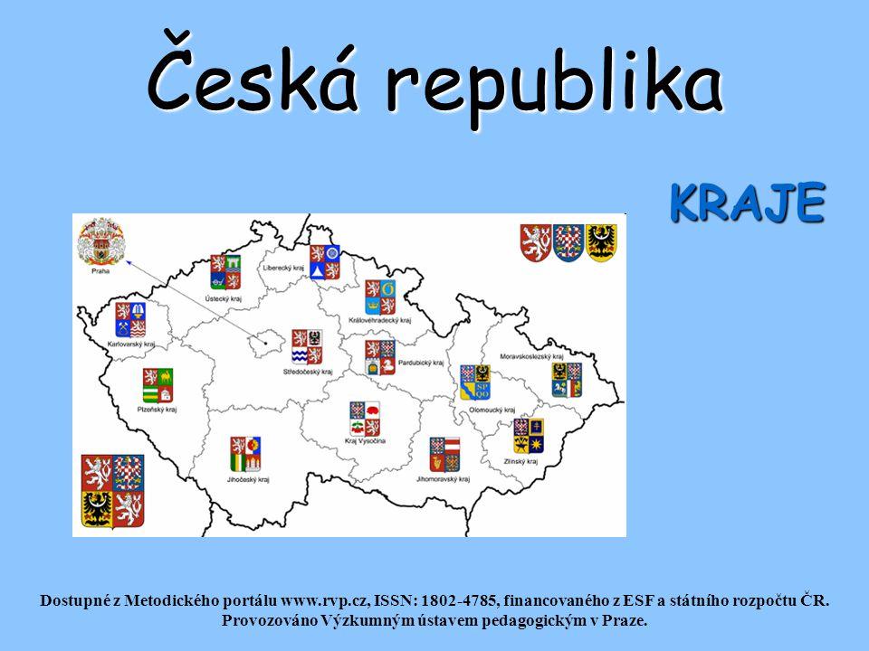 Česká republika KRAJE.